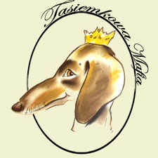 Tasiemkowa mafia logo, home